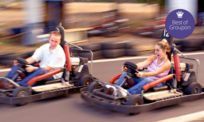 All Star Adventures and All Star Sports - Multiple Locations: Five Fun-Park Attractions for One, Two, or Four at All Star Adventures and All Star Sports (Up to 53% Off)