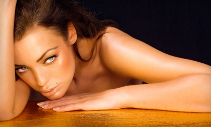Tanned Envy - Presidential Meadows: $20 for a Customized Organic Airbrush Tan ($40 Value) from Tanned Envy