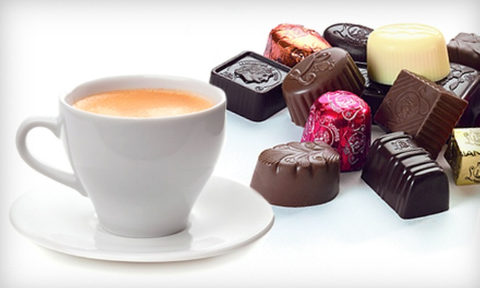 Leonidas Fresh Belgium Chocolates - Downtown Vancouver: $10 for a Gourmet Chocolate Tasting with Espresso for Two at Leonidas Fresh Belgium Chocolates ($23 Value)