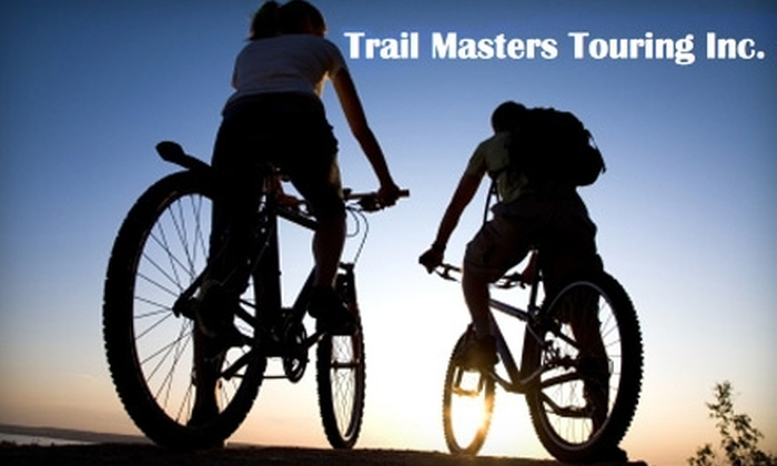 Trail Masters Touring - Westchester County: $19 for Full-Day Bike and Helmet Rental from Trail Masters Mountain Bikes ($40 Value)