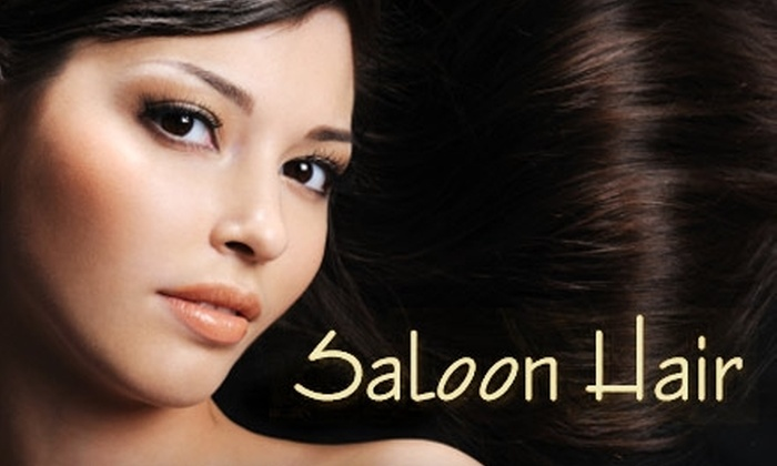 Saloon Hair - Astoria: $175 for One Bundle of Hair Extensions Plus a Wash, Cut, and Blow-Dry from Saloon Hair ($600 Value)