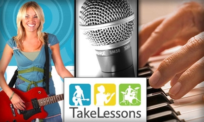 TakeLessons - Detroit: $45 for Three 30-Minute Music or Singing Lessons from TakeLessons (Up to a $135 Value)