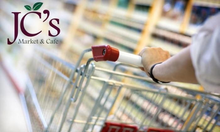 JC's Market & Cafe - Roselle: $20 for $40 Worth of Groceries and Café Fare at JC's Market & Cafe in Roselle