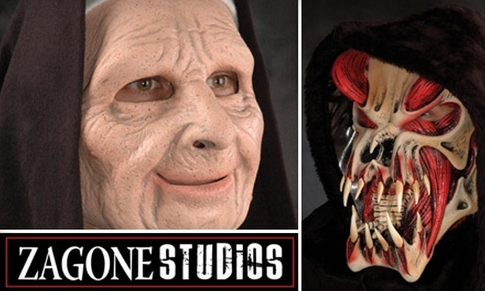 Zagone Studios - North Center: $44 for One-Hour Tour and Premium Halloween Mask from Zagone Studios (Up to $89 Value). Choose from Four Dates.