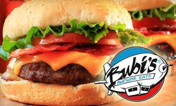 Bubi's Awesome Eats - City Centre: $10 for $20 Worth of Burgers and More at Bubi's Awesome Eats