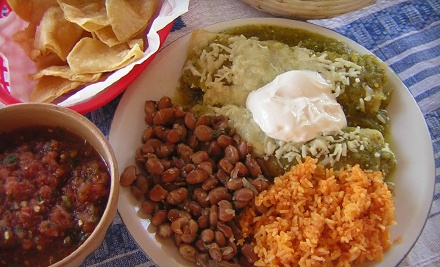 Dinner for 2 Including 1 Appetizer, 2 Entrees and 1 Dessert - Mi Casa Tamales in Boerne