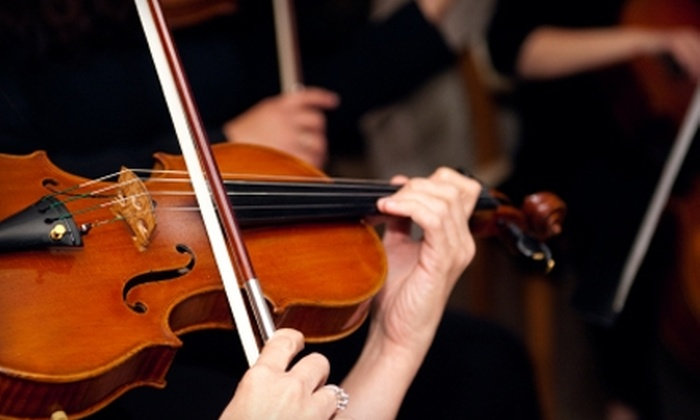 """Thirteen Strings Chamber Orchestra - Byward Market - Parliament Hill: $19 for One Ticket to Thirteen Strings Chamber Orchestra's """"Illumination"""" Concert (Up to $40 Value)"""