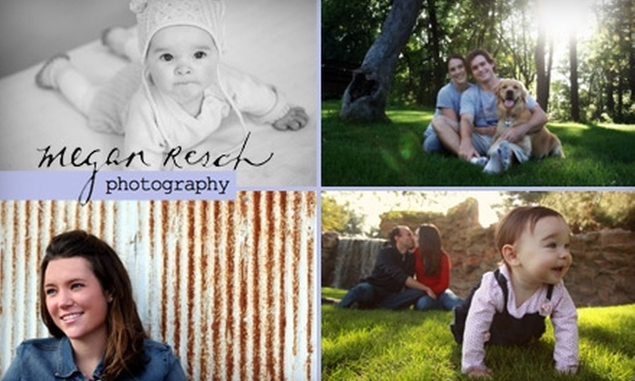 Megan Resch Photography - Phoenix: $65 for a Photo Session and One 8x10 Print or Two 5x7 Prints from Megan Resch Photography ($330 Value)