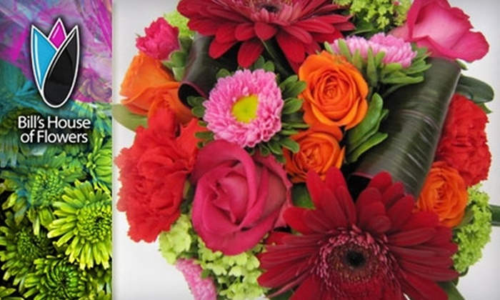 Bill's House of Flowers - Nutana: $25 for $50 Worth of Fresh-Cut Flowers from Bill's House of Flowers