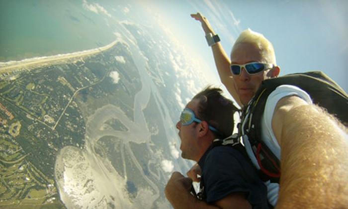 Skydive Amelia Island - Fernandina Beach: $125 for a Tandem Skydive from Skydive Amelia Island in Fernandina Beach ($179 Value)