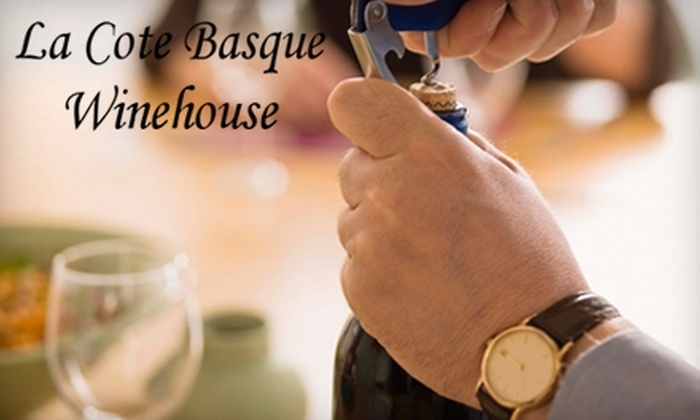 La Cote Basque - Gulfport: $15 for $30 Worth of French Fare & Drinks at La Cote Basque