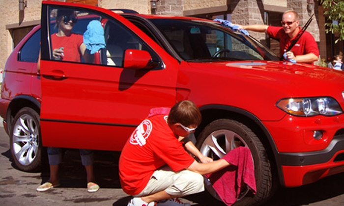 Car Wash and Wax or Three Months of Unlimited Washes at Platinum Car Wash (Up to 57% Off). Three Locations Available.