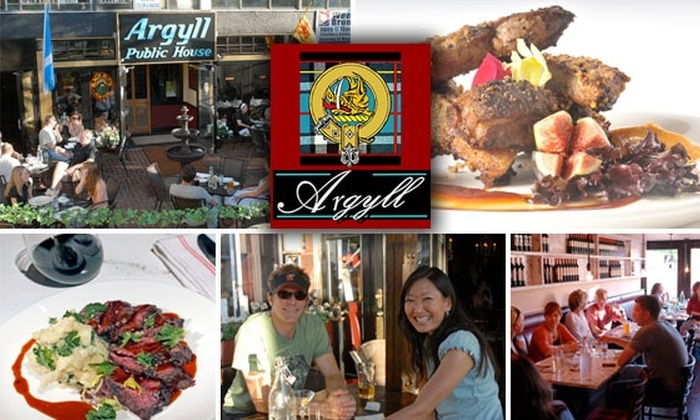 Argyll GastroPub - Cherry Creek: $13 for $25 Worth of Grub and Beer at Argyll GastroPub