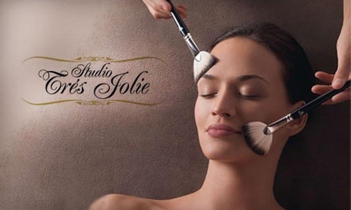 Studio Trés Jolie - Munsey Park: $49 for Yonka Paris Facial and Professional Makeup Application at Studio Trés Jolie in Manhasset