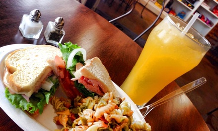 $12 for Two Groupons, Each Good for $10 Worth of Food at Belmont Soda Fountain ($20 Total Value)