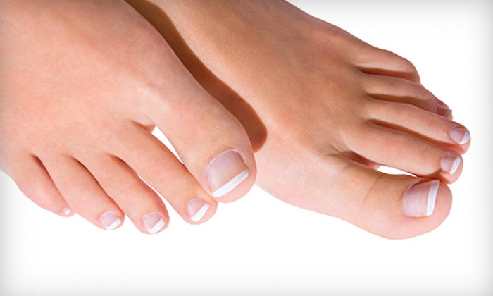 Houston Foot and Ankle Care - Sharpstown: Laser Nail-Fungus Removal for One or Two Feet at Houston Foot and Ankle Care (Up to 70% Off)