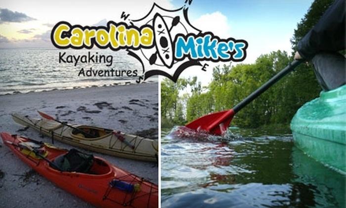 Carolina Mike's Kayaking Adventures - Safety Harbor: $25 for a Kayaking Lesson at Carolina Mike's Kayaking Adventures ($50 Value)
