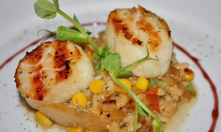 Dinner for Two or Four at The Oar Steak & Seafood Grill (Up to 50% Off)