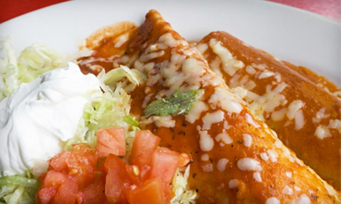 El Paisano - Lindenwood Park: Mexican Cuisine Dinner for Two or Fare for Lunch at El Paisano