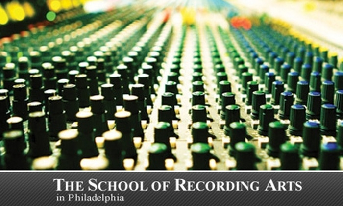 The School of Recording Arts - Germantown: $62 for an Intro Music Recording Technology Class at The School of Recording Arts ($125 Value)