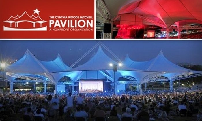 The Cynthia Woods Mitchell Pavilion - Town Center: $7 Ticket for Your Choice from Three Performances of the Houston Symphony at The Cynthia Woods Mitchell Pavilion