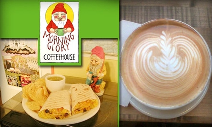 Morning Glory Coffeehouse - Morningside: $5 for $10 Worth of Organic, Fair-Trade Coffee and Casual Fare at Morning Glory Coffeehouse