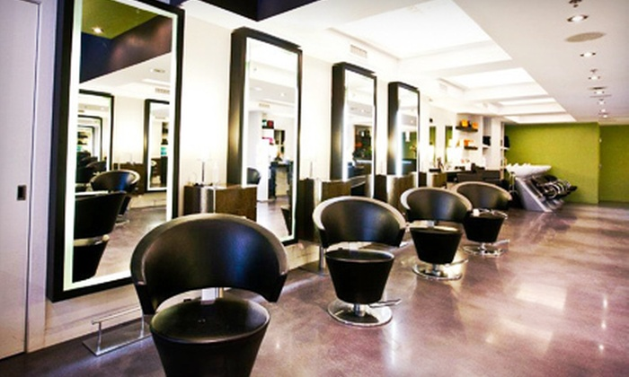 Pierino Scarfo Salon - Multiple Locations: Gold VIP Membership Package with Cut, Blowout, or Colour Treatment at Pierino Scarfo Salon (Up to 67% Off)