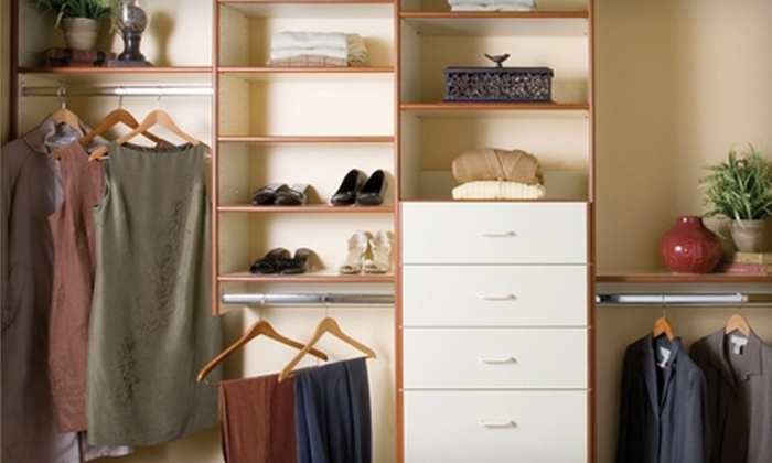 Classy Closets - Mission Viejo: $199 for $500 Toward Custom-Closet Services from Classy Closets