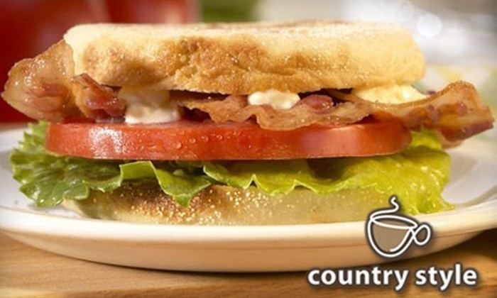 Country Style–Bistrodeli - Hamilton Road: $4 for $8 Worth of Baked Goods, Lunch Fare, and Drinks at Country Style–Bistrodeli