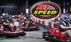 K1 Speed - Central City: $44 for Four Arrive and Drive High-Speed Races and Two Annual Race Licenses at K1 Speed ($92 Value)