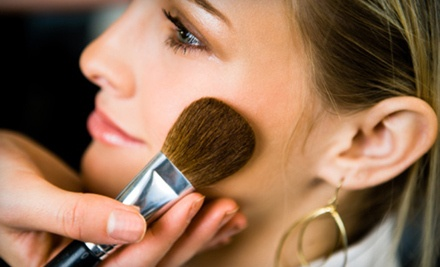 Makeup Consultation with a Full Makeup Application and Lesson (a $40 value) - Glammed Up in San Jose