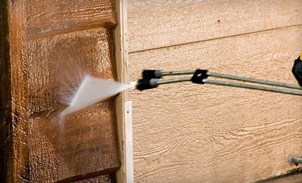 $150 Groupon to All Seasons Powerwashing - All Seasons Powerwashing in