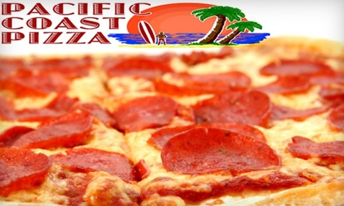 Pacific Coast Pizza - Wichita: $7 for $15 Worth of Pizza, Pasta, Salad, and More at Pacific Coast Pizza