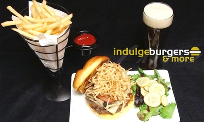 Indulge Burgers & More - Central Scottsdale: $30 Worth of Burgers and Drinks at Indulge Burgers & More