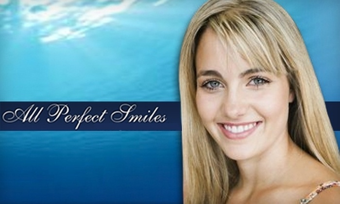 All Perfect Smiles - Multiple Locations: $179 for Zoom! Teeth-Whitening Treatment at All Perfect Smiles ($650 Value)