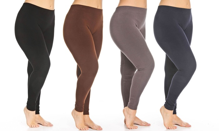 Women's Plus-Size Leggings | Groupon Goods