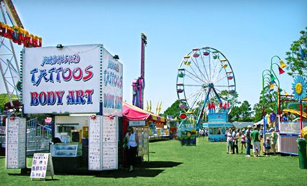 Good for Two Tickets to the Fair with Unlimited Midway Rides - Brevard County Fair in Melbourne