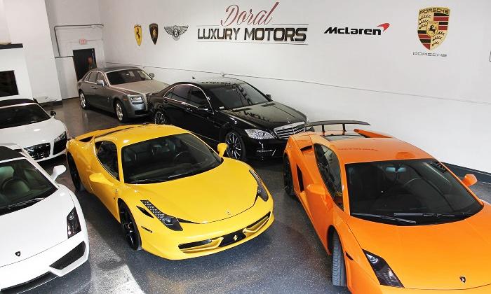 Doral Luxury Motors - North Westside: 30- or 60-Minute Luxury Car Rental from Doral Luxury Motors (Up to 62% Off)