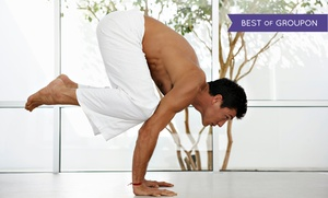 Pure Om Hot Yoga: 5 or 10 Bikram Yoga Classes at Pure Om Hot Yoga (Up to 70% Off)