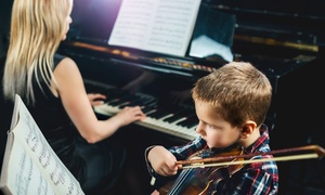 Music, Dance, & Art School of Douglaston: 30-Minute Music Lessons at Music, Dance, & Art School of Douglaston (Up to 82% Off). Six Options Available.