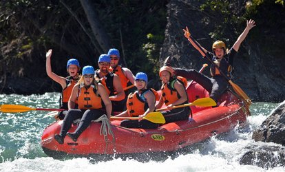 image for Whitewater Rafting Trip for One, Two, or Four at Canadian Rockies Rafting (Up to 54% Off)