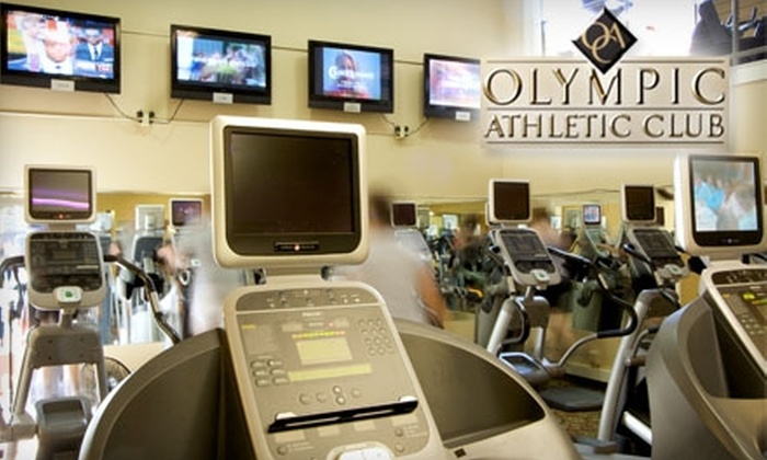 "Olympic Athletic Club - Adams: $49 for ""New Year, New You"" Gym Package at Olympic Athletic Club"