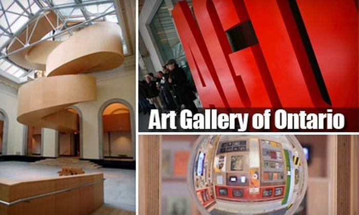 Art Gallery of Ontario - Downtown Toronto: Ticket to Art Gallery of Ontario. Three Options Available.