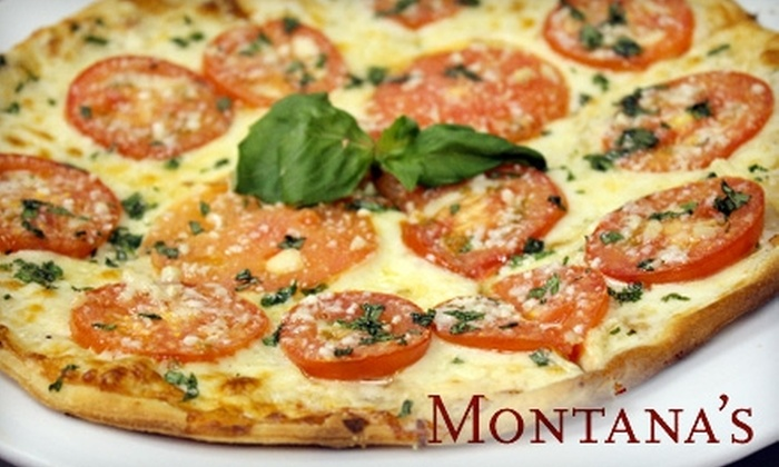 Montana's - Freeport: $20 for $40 Worth of Italian Cuisine at Montana's