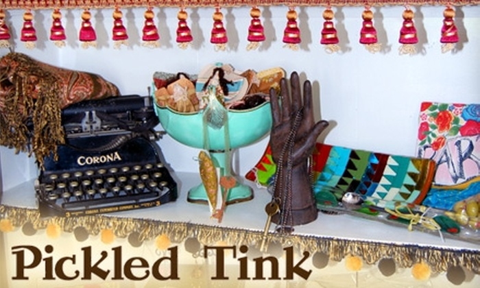 Pickled Tink and Artistree Studio and Boutique - New Southside: $15 for $30 Worth of Gifts, Jewelry, Art Classes and More at Pickled Tink and Artistree Studio and Boutique