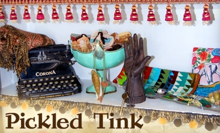 $30 Groupon to Pickled Tink and Artistree Studio and Boutique - Pickled Tink and Artistree Studio and Boutique in Reno