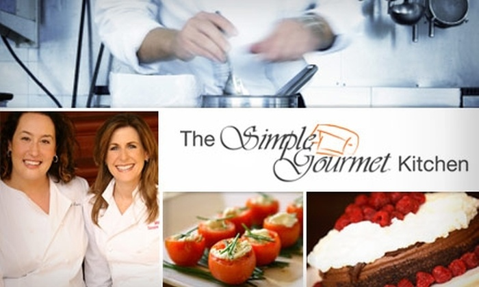 Simple Gourmet - Redondo Beach: $30 for a Cooking Class from Simple Gourmet (Up to $60 Value)