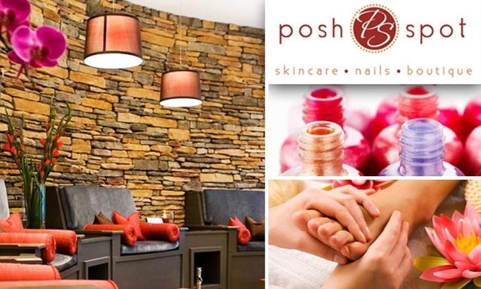 The Posh Spot - Vinings: $25 for Aromatherapy Mani-Pedi at The Posh Spot