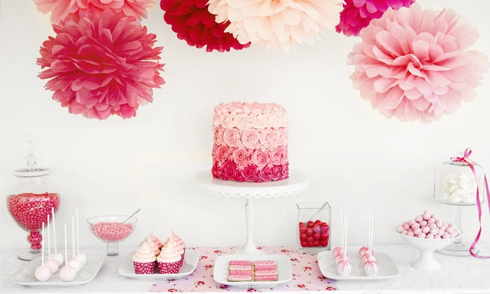 CLH Events - Simi Valley: $275 for a Customizable Candy and Dessert Buffet for Up to 45 Guests from CLH Events ($550 Value)