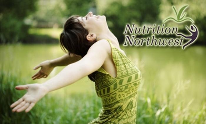 Nutrition Northwest Company: $49 for 28-Day Vegan Challenge with Nutrition Northwest Company ($249 Value)